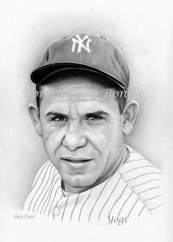 Yogi Berra by rondawest